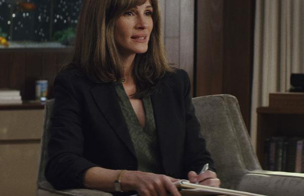 Homecoming: Julia Roberts proves to be a big star on the small screen in her first major TV role