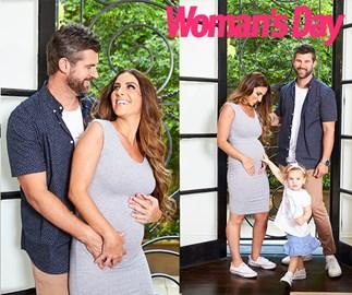 The Block EXCLUSIVE: Sara and Hayden's baby joy