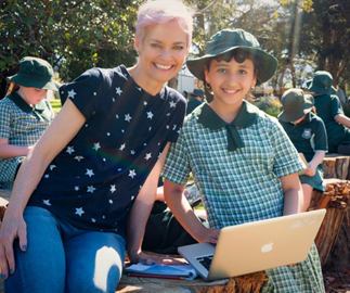 Jessica Rowe's plans for getting Aussie kids outdoors for Outdoor Classroom Day