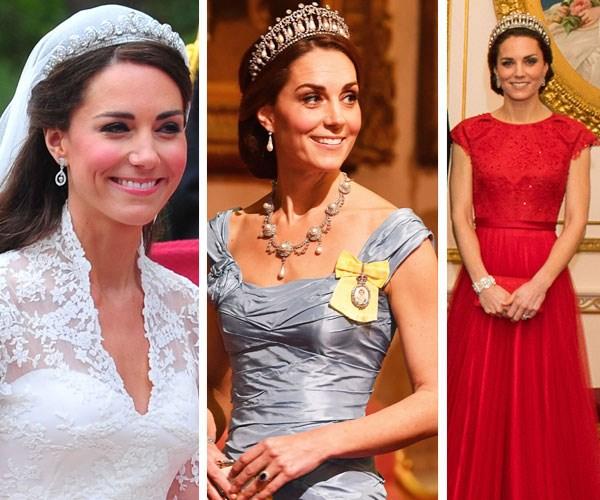 Duchess Catherine's tiaras