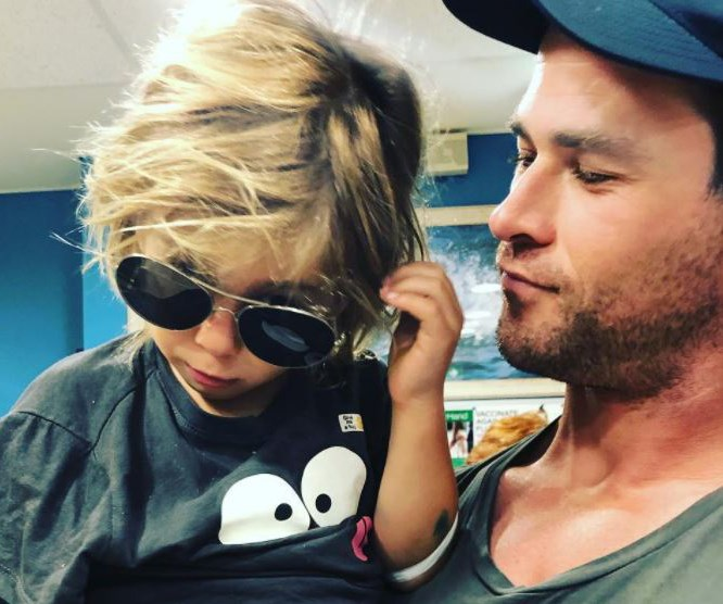 Chris Hemsworth and Elsa Pataky's four-year-old son rushed to hospital