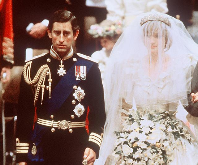 Prince Charles and Princess Diana wed on the 29th of July 1981.