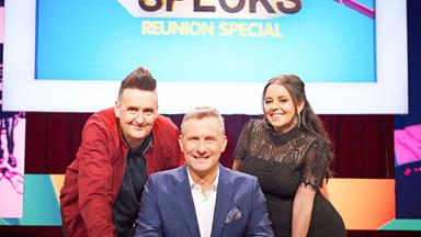Adam Hills and the gang are back on the buzzers for the Spicks and Specks Reunion Special