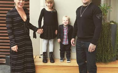 Family portrait(s): Pink and Carey Hart's sweetest parenting moments in pictures