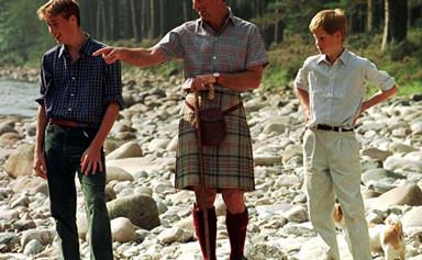Prince Charles' best moments with Prince William and Prince Harry