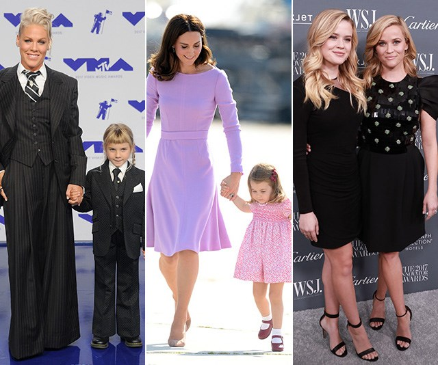 The best twinning moments between celebrity mums and their daughters