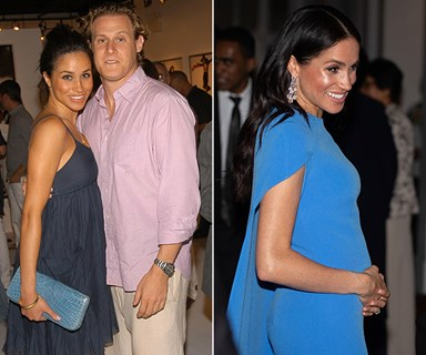"""Meghan Markle reportedly had a """"pregnancy contract"""" with her first husband, and it was royally demanding"""