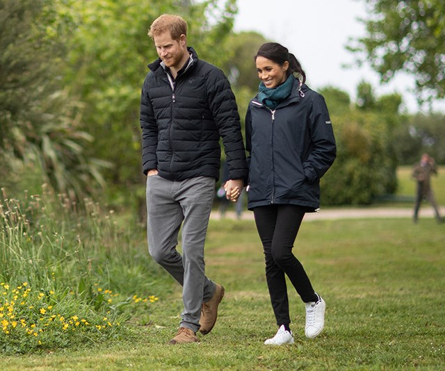 Prince Harry has a very cute nickname for his and Duchess Meghan's unborn baby
