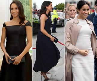 Duchess Meghan's best fashion moments from the royal tour