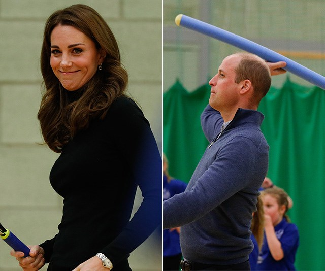 Prince William and Duchess Catherine don their activewear for a good cause