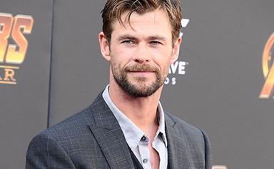 Chris Hemsworth's beard voted the SEXIEST in Australia!