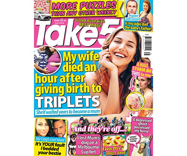 Take 5 Issue 45 Coupon - on sale now!