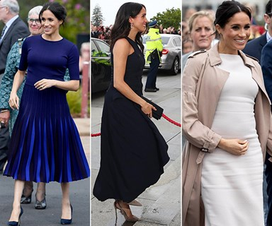 Duchess Meghan Markle's best maternity fashion moments from her royal tour