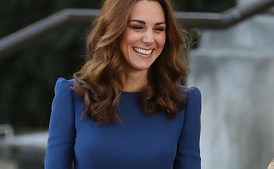 Glowing Duchess Catherine steps out in another recycled dress