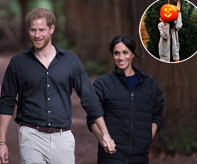 Did Prince Harry take this adorable Halloween photo of Meghan Markle?