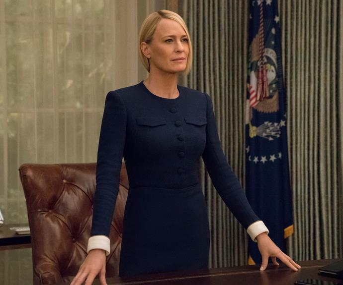 """House of Cards' Robin Wright: """"It's bittersweet to say goodbye"""""""