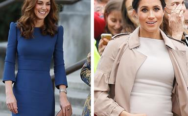 EXCLUSIVE: Duchess Catherine to the rescue for pregnant Meghan Markle