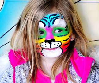 How to make face paint at home