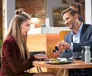 Neighbours: Pierce's shock proposal leaves Chloe overwhelmed