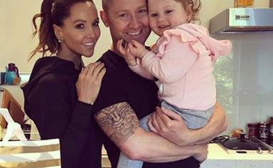 Michael and Kyly Clarke rush daughter Kelsey Lee to hospital