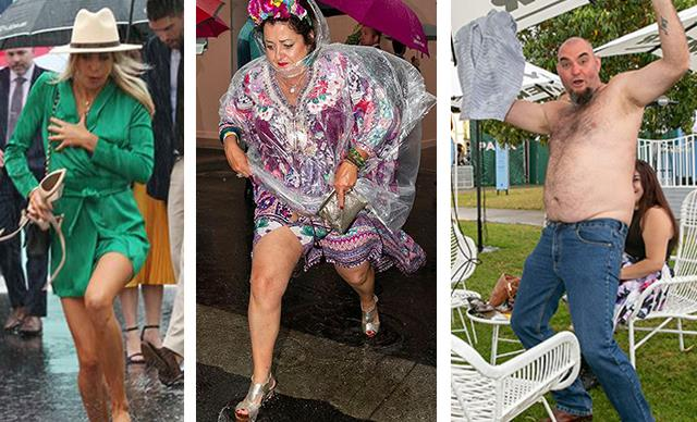 Drunk & disorderly! The funniest racegoer antics at the 2018 Melbourne Cup
