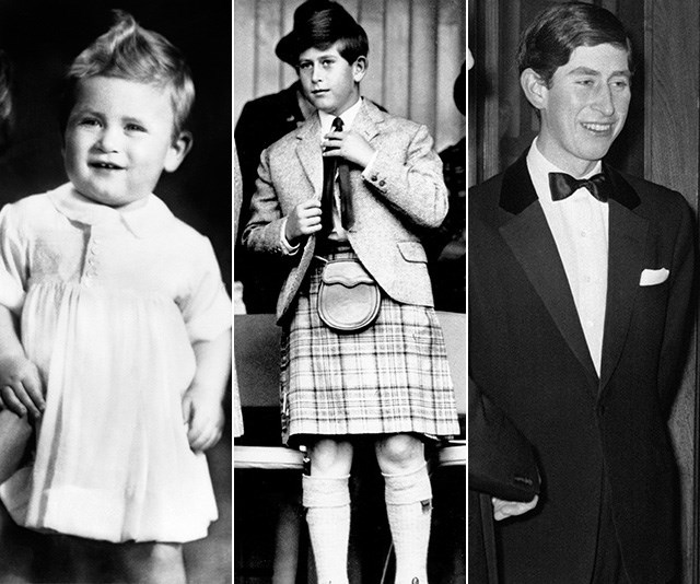 Young Prince Charles: The evolution of a royal