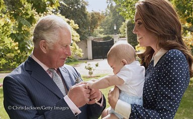 Behold! There's a stunning new photo of Prince Louis and it's HEAVEN
