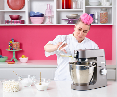 The secret ingredient Family Food Fight's Anna Polyviou uses to make her desserts the bomb!