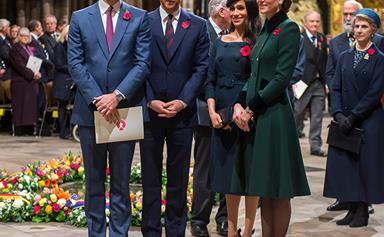 The royals were out in full force for Remembrance Day