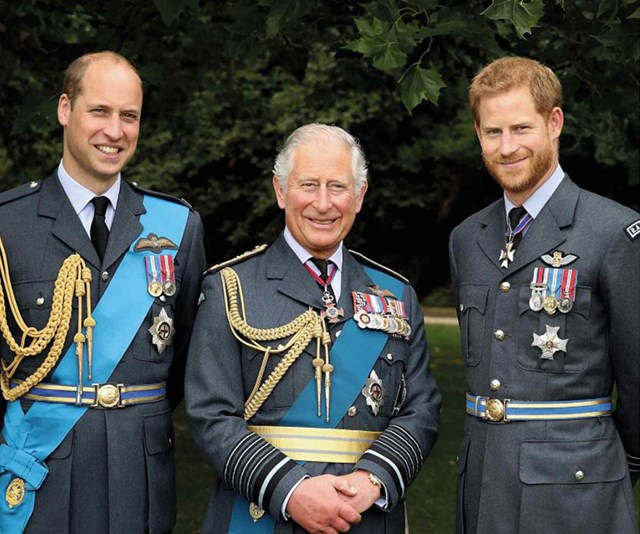 New royal stamps have been released in honour of Prince Charles' 70th birthday
