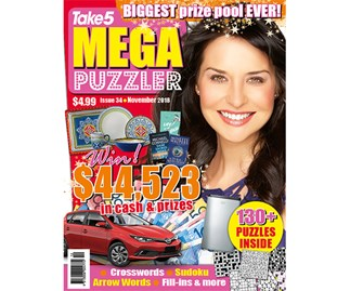 Mega Puzzler Issue 34 Coupon