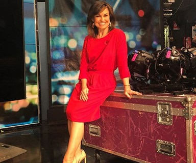 Lisa Wilkinson just shared exactly where you can buy the AMAZING red dress she wore on The Sunday Project