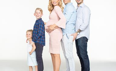 Carrie Bickmore shares more unconventional pregnancy photos with Tommy Little
