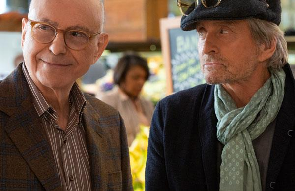 Alan Arkin and Michael Douglas play two old pals navigating later life in The Kominsky Method