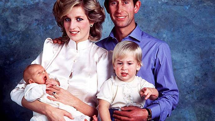 princess diana prince harry prince william
