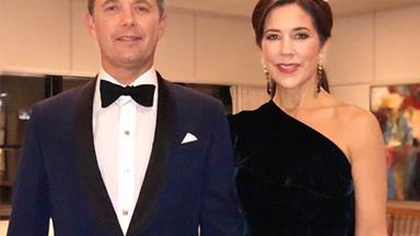 Crown Princess Mary and Crown Prince Frederik of Denmark's rare PDA at Prince Charles' 70th birthday