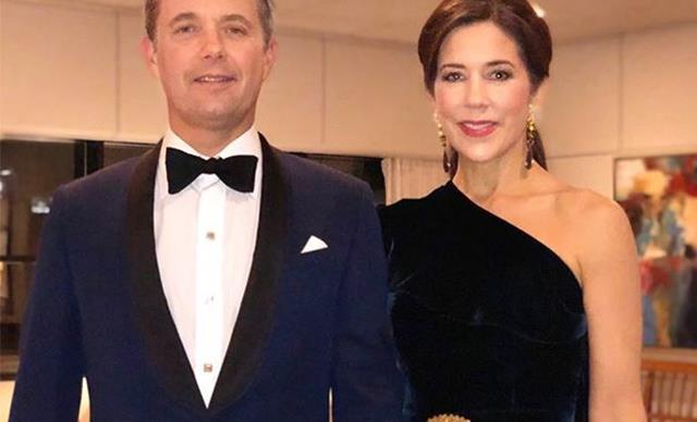 Crown Princess Mary and Crown Prince Frederik of Denmark's rare PDA at Prince Charles' 70th birthday