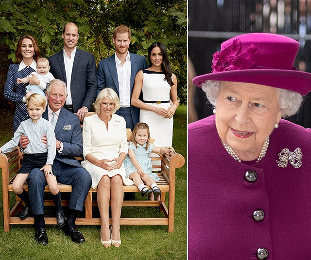 Queen Elizabeth is letting the young royals take the throne