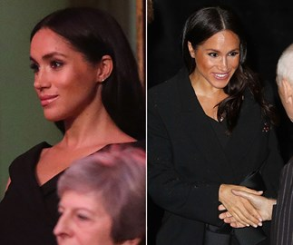 Duchess Meghan's stunning black dress will cost you less than $100