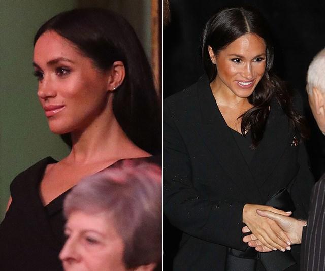Duchess Meghan's stunning black dress will cost you less than $100