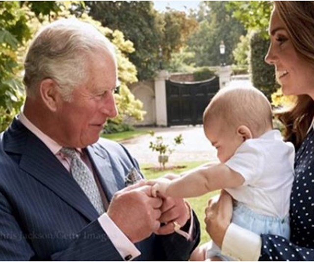 Prince Charles and Prince Louis share ADORABLE moment in never-before-seen picture