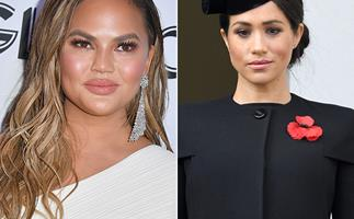 Chrissy Teigen dishes on what it's REALLY like to work with Meghan Markle