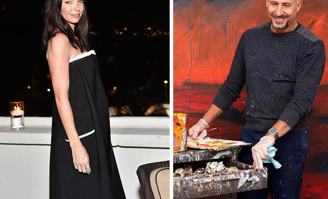 Move over James! Meet Erica Packer's handsome new boyfriend