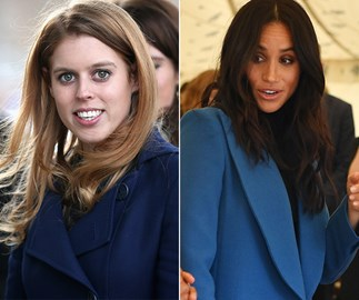 Princess Beatrice and Meghan Markle just wore matching skirts and we can't decide who wore it better