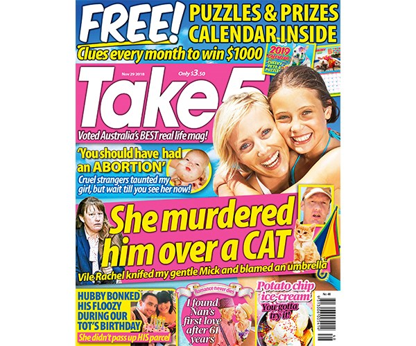 Take 5 Issue 48 Coupon - on sale now!
