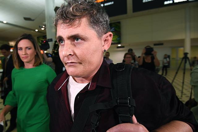 Bali Nine drug smuggler Renae Lawrence returns to Australia