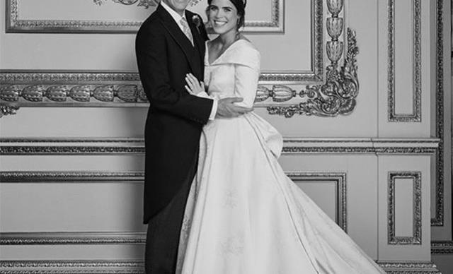 Princess Eugenie shares never-before-seen picture inside her royal wedding