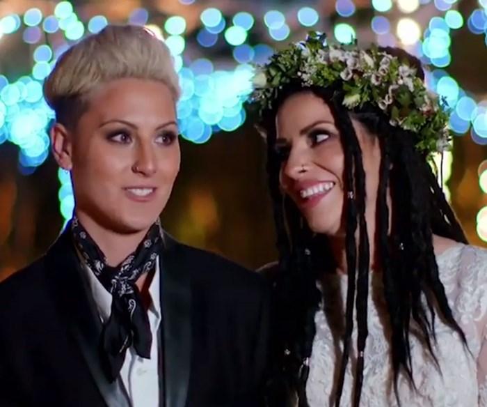 Bride & Prejudice: Ange and Dylan's heartwarming wedding ceremony