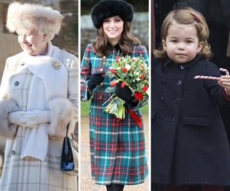 Queen Elizabeth, Duchess Catherine, Princess Charlotte
