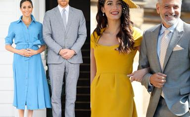 Will George and Amal Clooney be godparents to the royal baby?